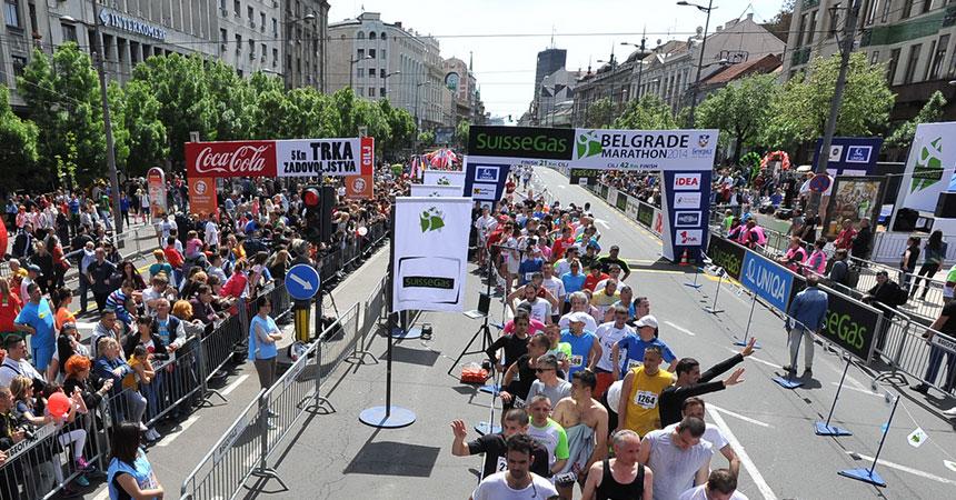 Organizacija boravka u Beogradu za vreme maratona