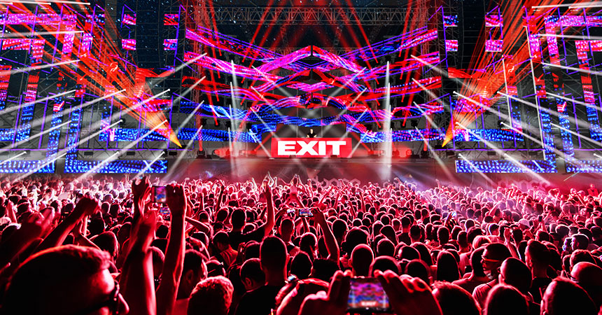Putnički kombi sa vozačem za Exit festival