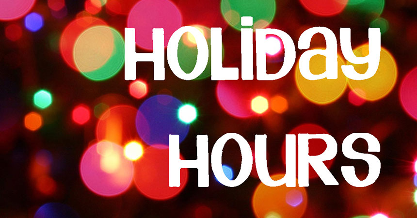 Holiday working hours